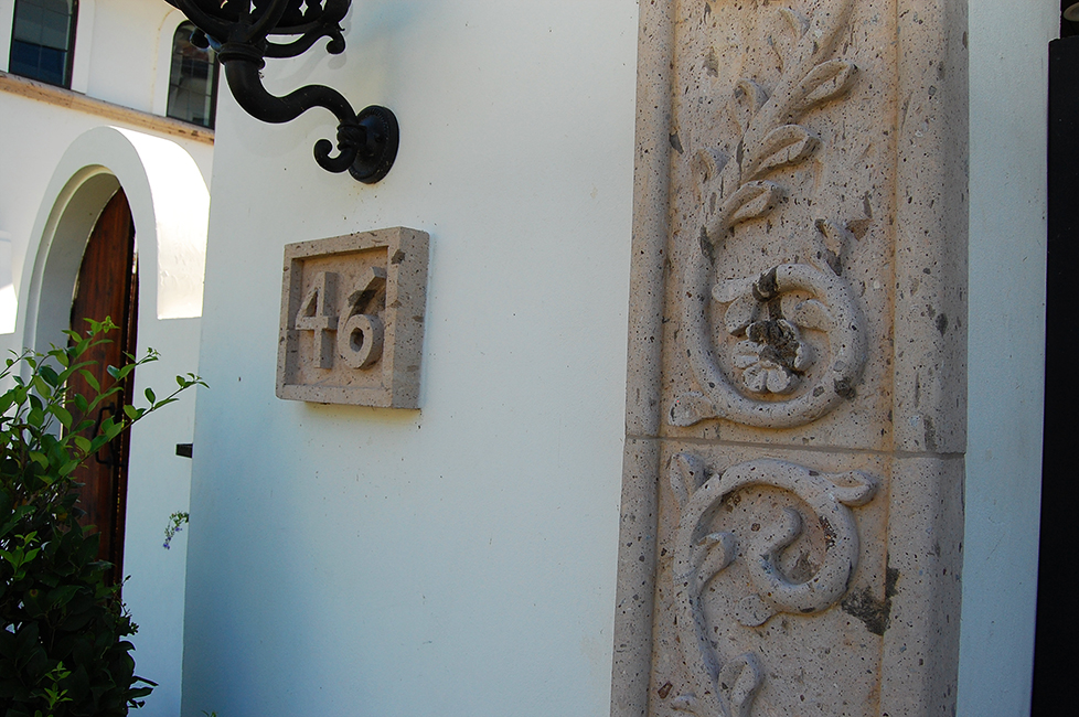 Cantera Stone Address Blocks