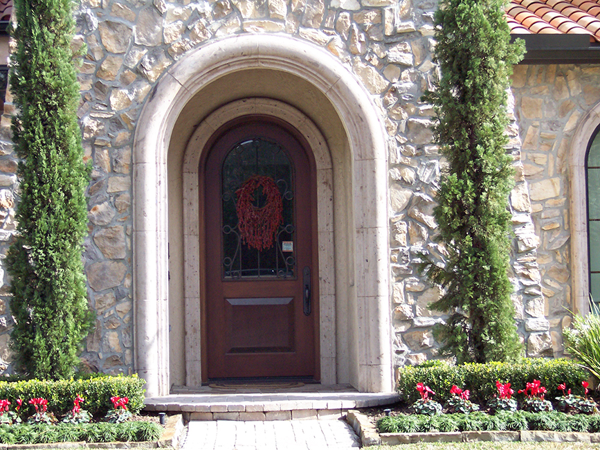 Cantera Stone Door Surrounds